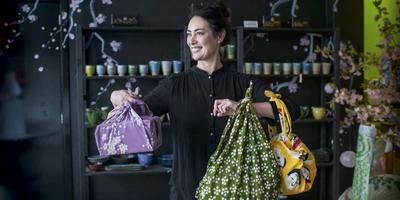 Furoshiki alternatief voor gratis plastic tasje