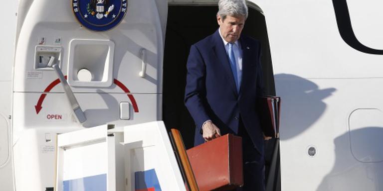 Kerry vrijdag naar Brussel