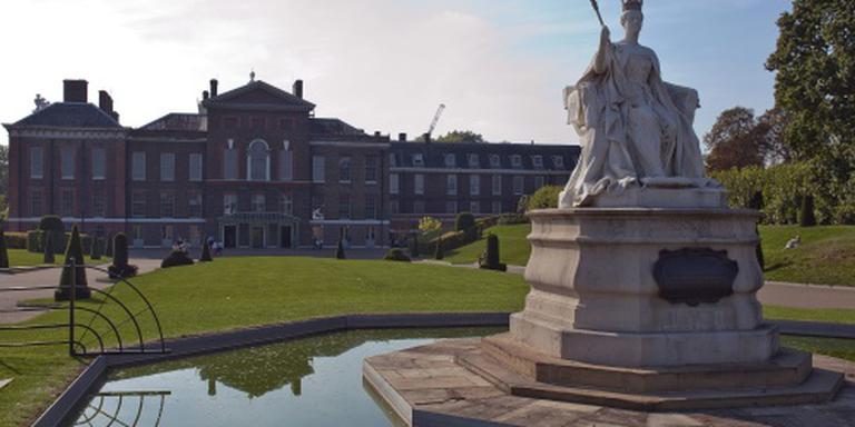 Zelfverbranding in tuin Kensington Palace
