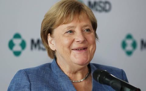 Merkel roept Duitsers op om te kiezen voor Laschet