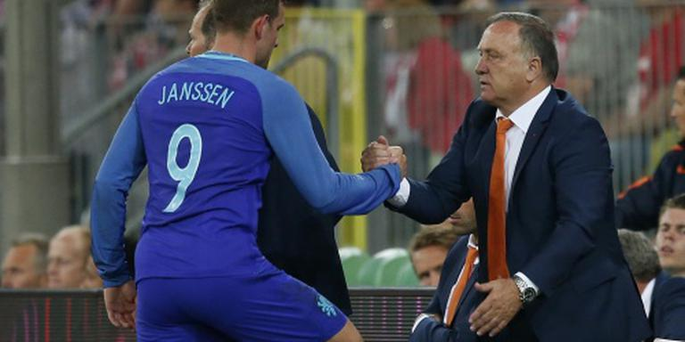 Janssen grijpt weer kans in Oranje