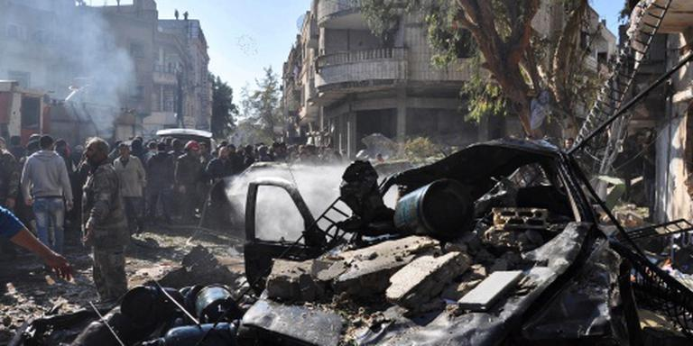 Tientallen doden bij aanslag Homs