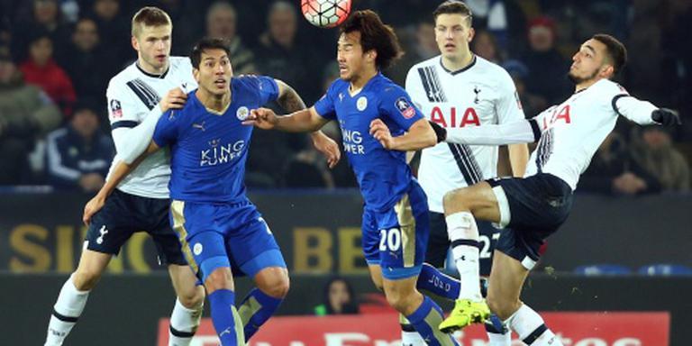 Leicester laat zich verrassen door Spurs