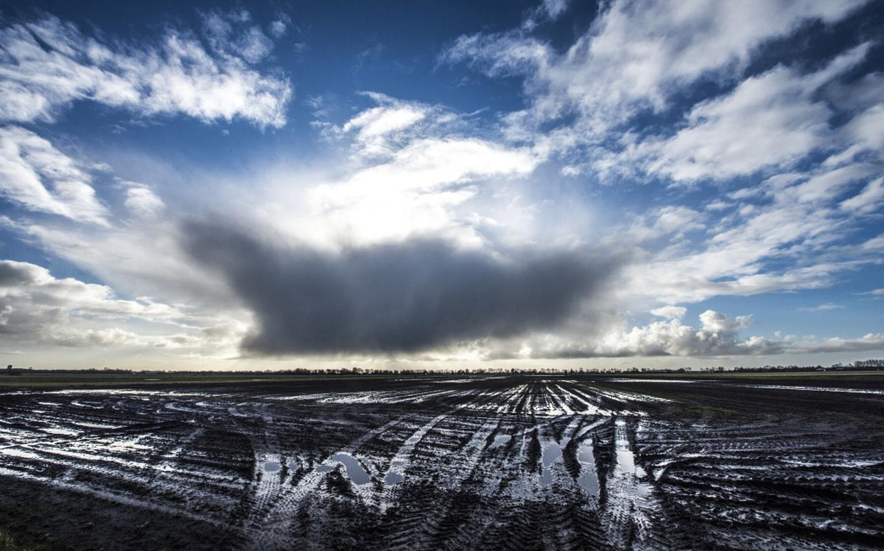De plek waar de windmolens in de Drentse Veenkoloniën zijn gepland. Foto: Archief DvhN / Marcel Jurian de Jong