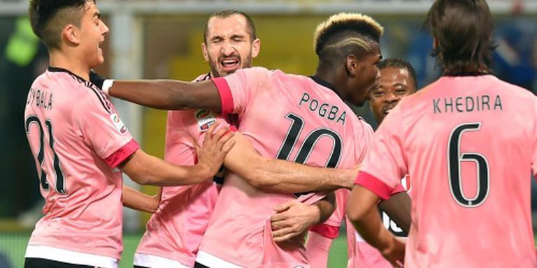 Juventus houdt stand bij Sampdoria