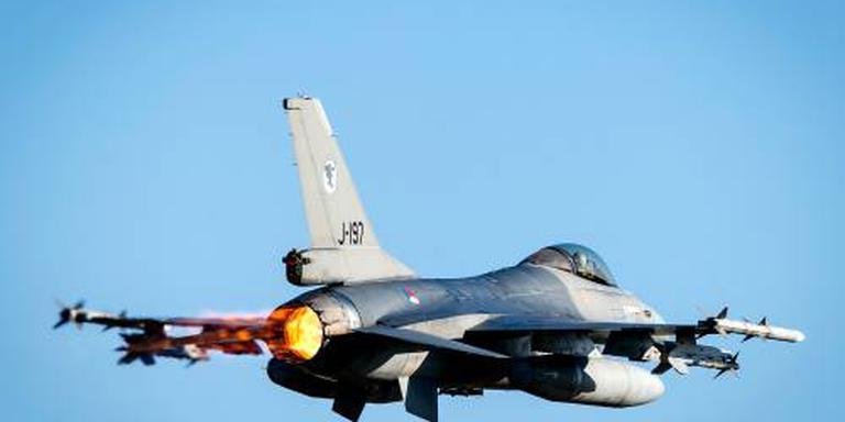 F-16's lucht in voor onderschepping