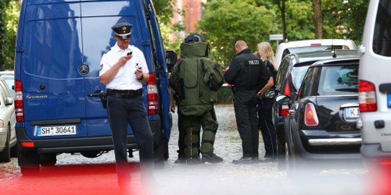 Politie pakt marsepeinman op