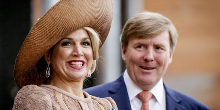 Koningspaar opent Koningsspelen in Amsterdam