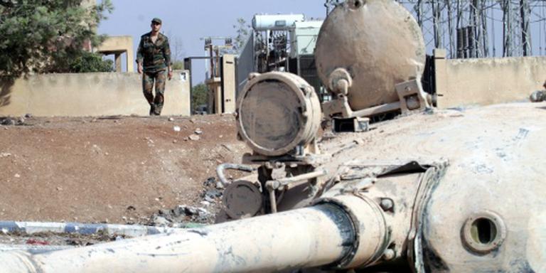 'Syrische troepen weg bij frontlijn Aleppo'