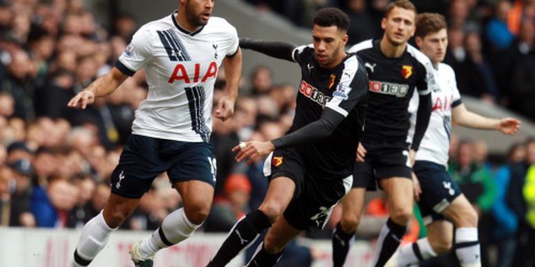 Spurs naar tweede plaats