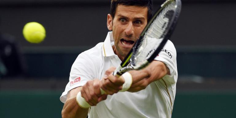 Weinig zorgen voor Djokovic in tweede ronde