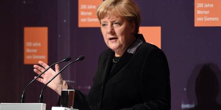 'Merkel wil gesprekken met Turkije bevriezen'
