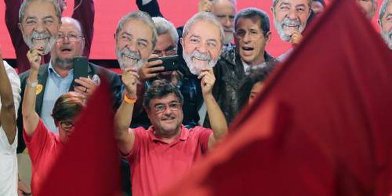 Lula ondanks gevangenschap kandidaat-president