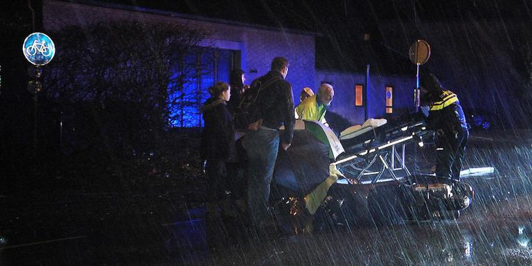 Stormachtig weer veroorzaakt ongeluk.