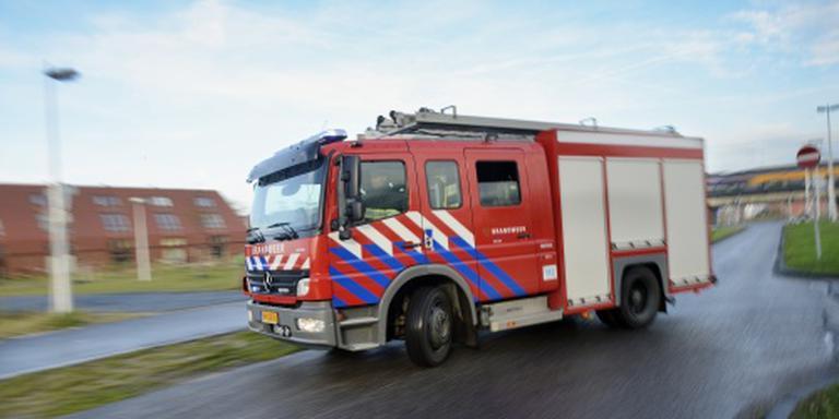 Ontruiming wegens brand in Heerhugowaard