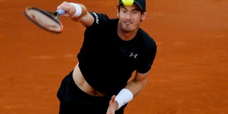 Overwerk voor Murray in Madrid