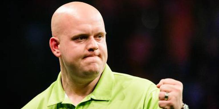 Van Gerwen dendert door in Grand Slam