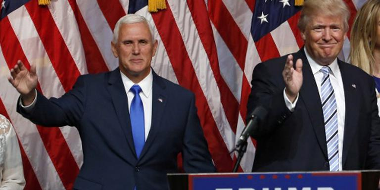 Trump presenteert Mike Pence als running mate
