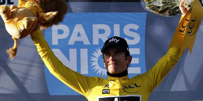 Thomas slaat aanval Contador af