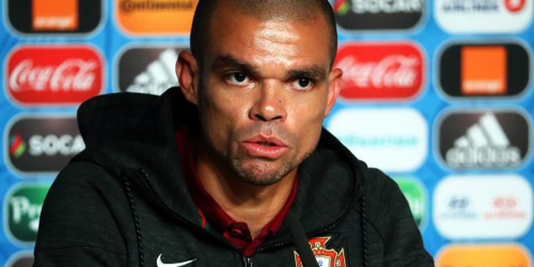 Portugal met Pepe in EK-finale tegen Fransen