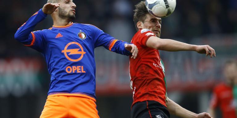 Feyenoord met kater de feestdagen in