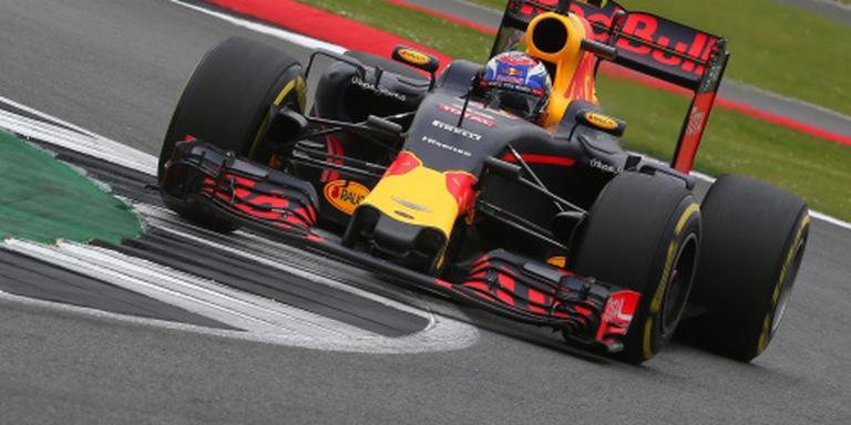 Verstappen ook op het podium in Engeland