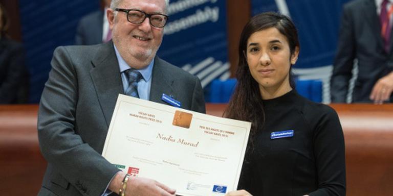 Mensenrechtenprijs voor jezidi-activiste