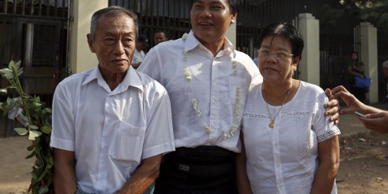 Weer politieke gevangenen vrij in Myanmar