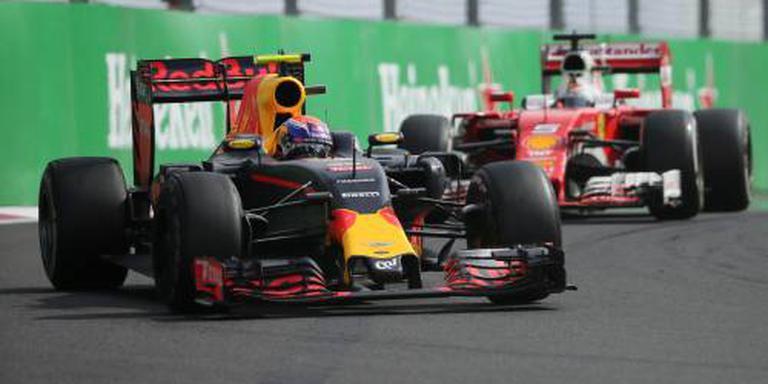 Max Verstappen nu weer vierde in GP Mexico
