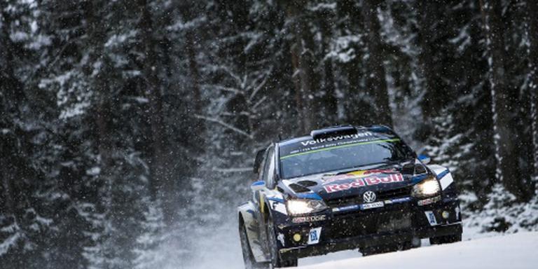 Ogier wint rally van Zweden