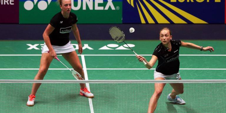 EK-zilver badmintonsters Piek en Muskens