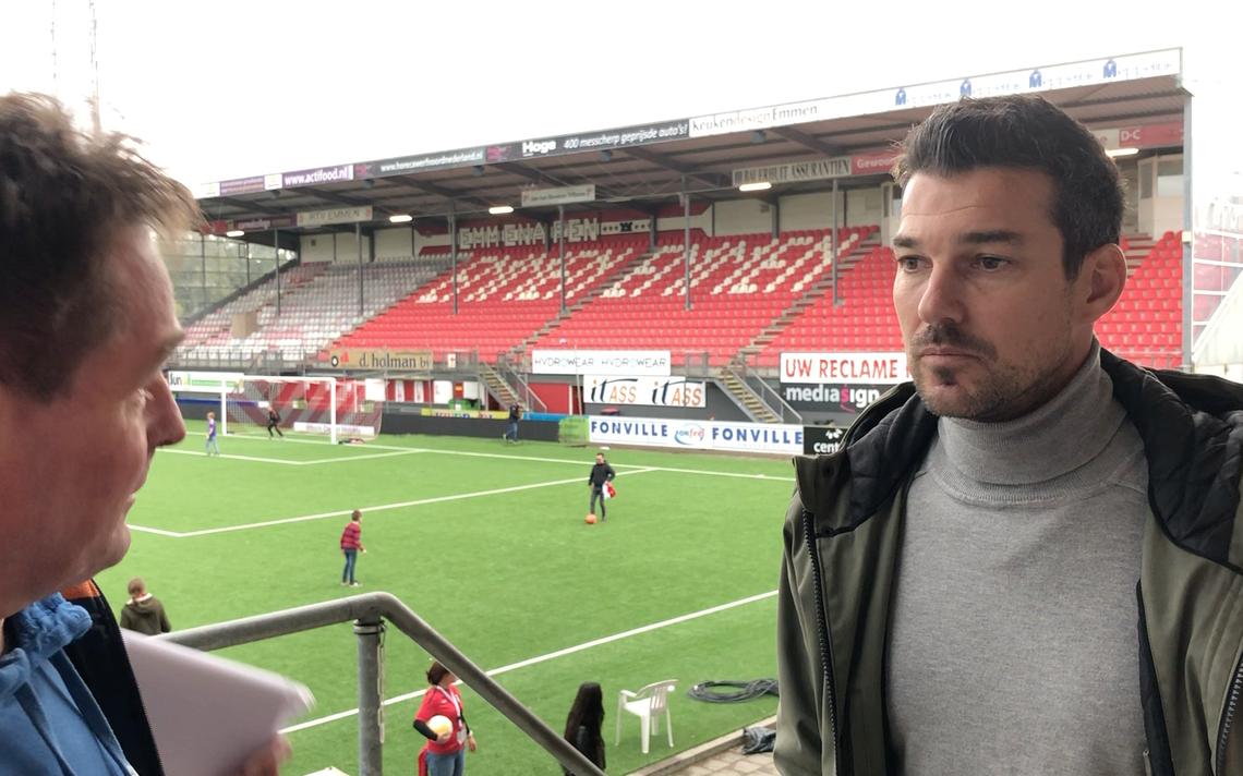 Antoine van der Linden vond FC Emmen echt goed tegen Vitesse - dvhn.nl