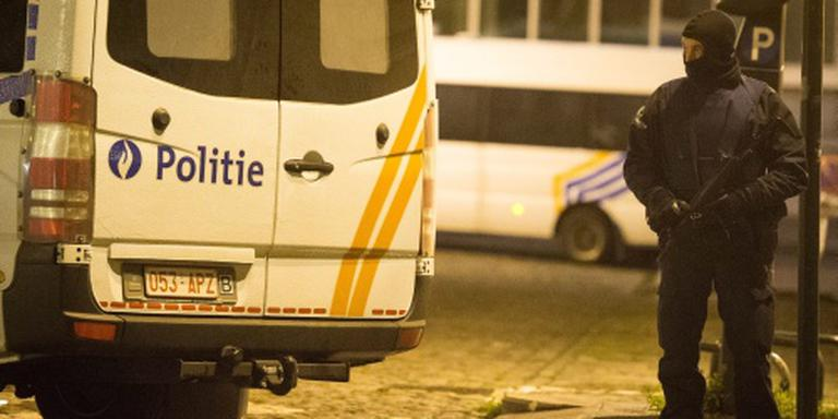 Vijf aanhoudingen bij huiszoeking in Brussel