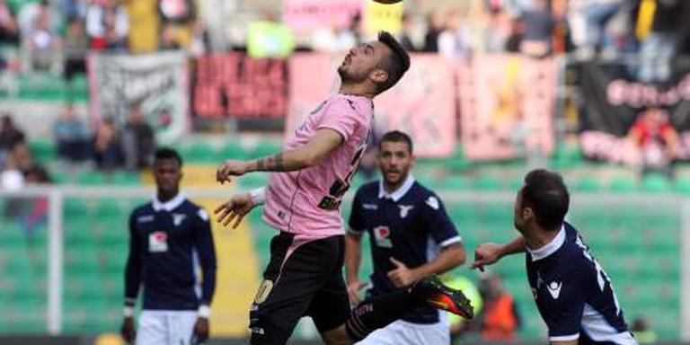 Lazio verslaat Palermo zonder Nederlanders