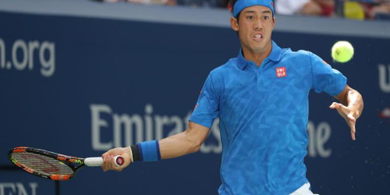 Nishikori neemt wraak op Murray
