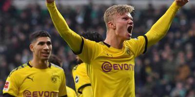 Haaland blijft scoren voor Borussia Dortmund