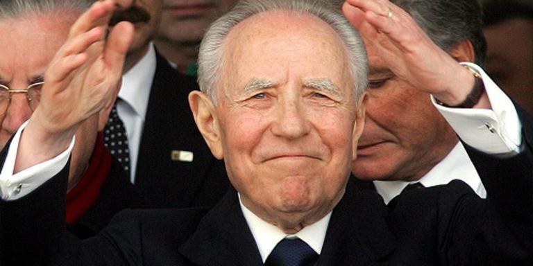 Italiaanse ex-president Ciampi overleden