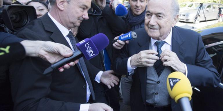 Blatter erkent gesjoemel met lotingen