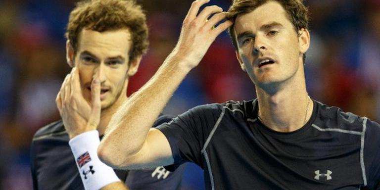 Britse tennissers leven nog in Glasgow