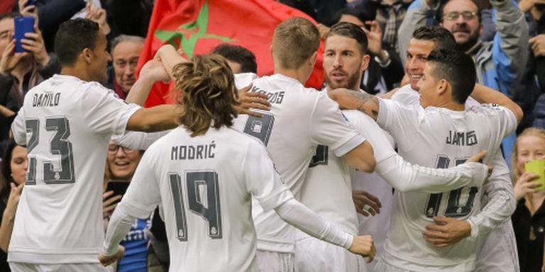Real veel te sterk voor Bilbao