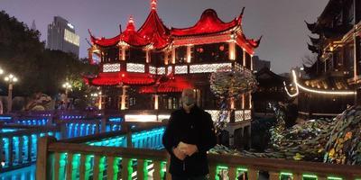 Joop Gall in Sjanghai.