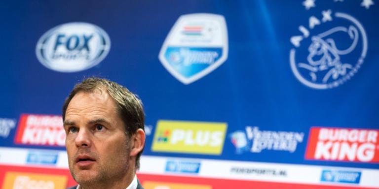 De Boer accepteert uitblijven spits bij Ajax