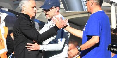 Mourinho accepteert excuses van Sarri