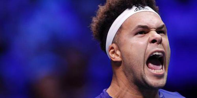 Tsonga brengt finale Daviscup in evenwicht
