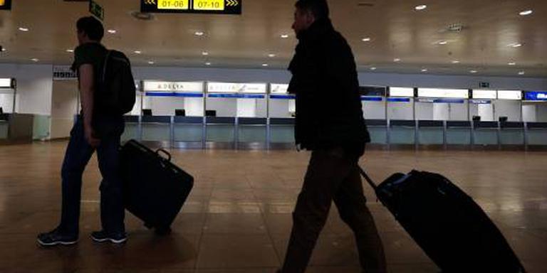 Controletenten vliegveld Brussel verdwijnen