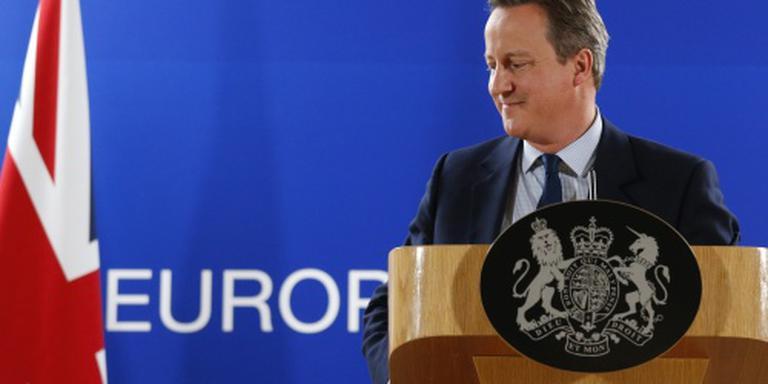 Cameron trapt afscheid van EU niet zelf af