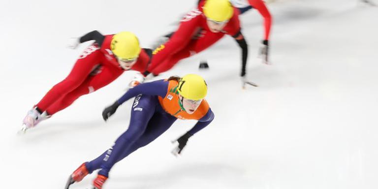 Shorttrackster Schulting vijfde op 100 meter