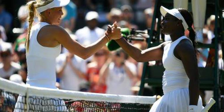 Stephens opnieuw snel klaar op Wimbledon