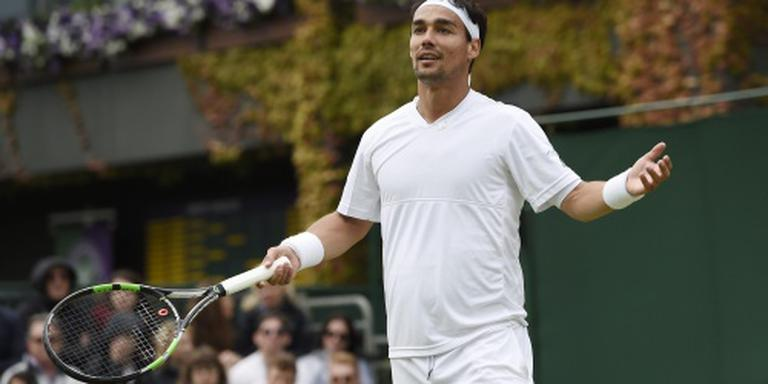Tennisser Fognini pakt vierde titel in Umag