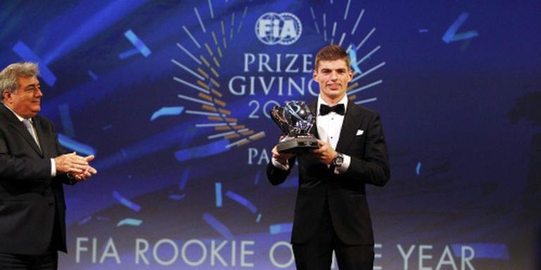 Verstappen in race voor talentenprijs Laureus